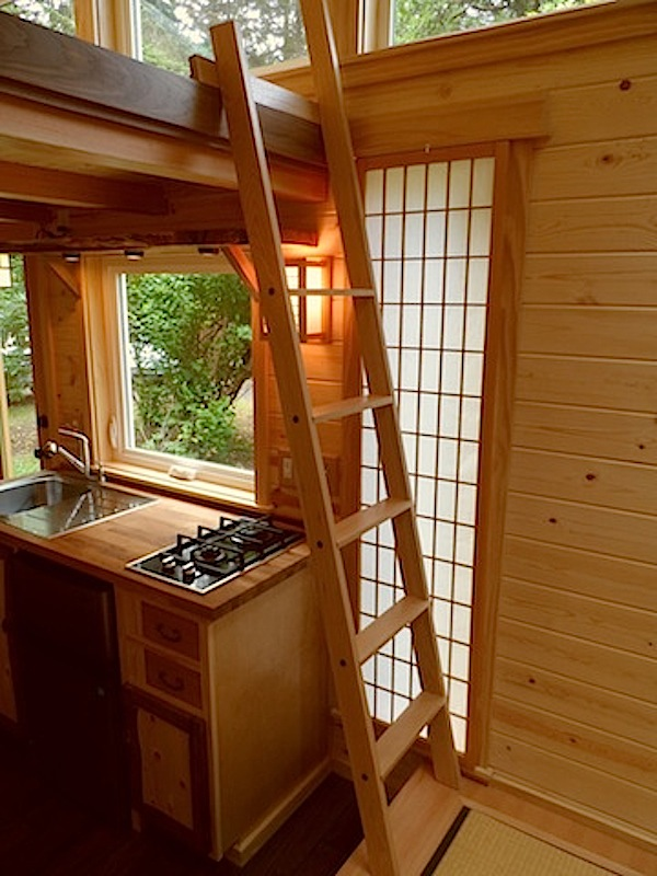 Your Own Tea Room in a 134 Sq. Ft. Japanese Tiny Home?