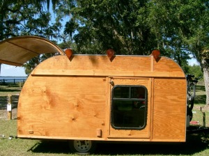 Man Turns Pop Up Trailer into Teardrop Camper