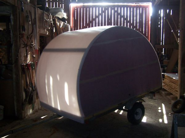 jean rene micro camper teardrop trailer project how to build your own 11   How to build your own ultra lightweight Micro Camper Teardrop Trailer