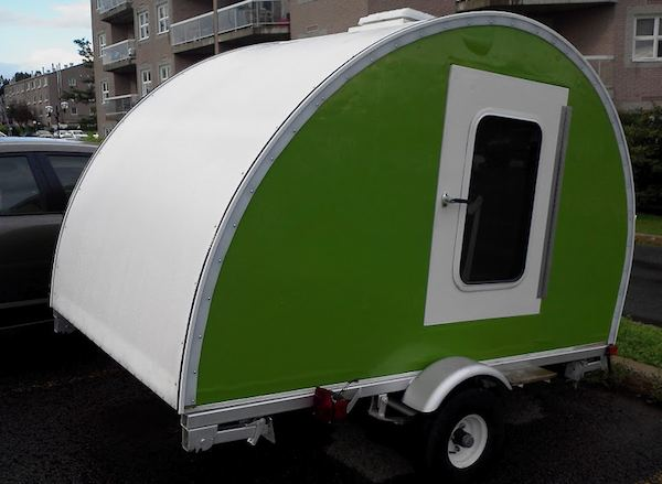 jean rene micro camper teardrop trailer project how to build your own 17   How to build your own ultra lightweight Micro Camper Teardrop Trailer