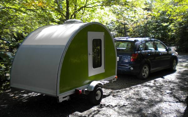 jean rene micro camper teardrop trailer project how to build your own 18   How to build your own ultra lightweight Micro Camper Teardrop Trailer
