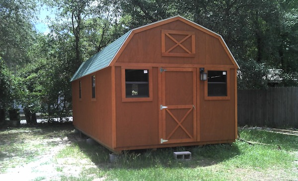 how to turn your barn or shed into a livable tiny house - Storage Shed House