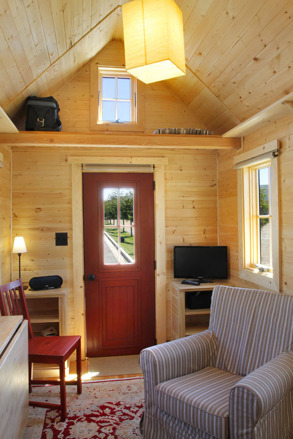 Living single this tiny house might be for you - Tumbleweed tiny house interior ...