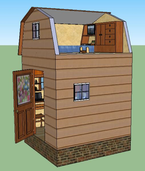 lamar 39 s 8x8 tiny house design
