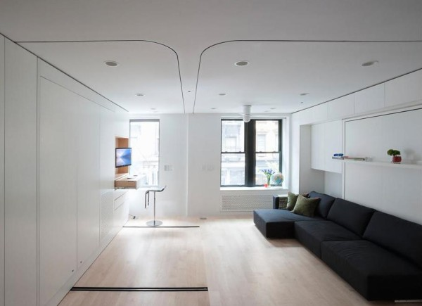 Le1 420 Sq Ft Transforming Nyc Micro Apartment For Sale