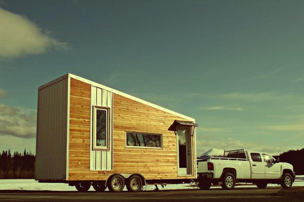 Tiny House on Wheels Serves Family of Four
