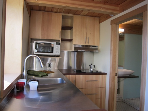 mini b prefab passive modern tiny house 007   Mini B: 300 Sq. Ft. Passive Tiny House