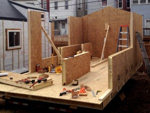 minimhouse 300x225   6 Ways to Build Framing for Tiny Houses