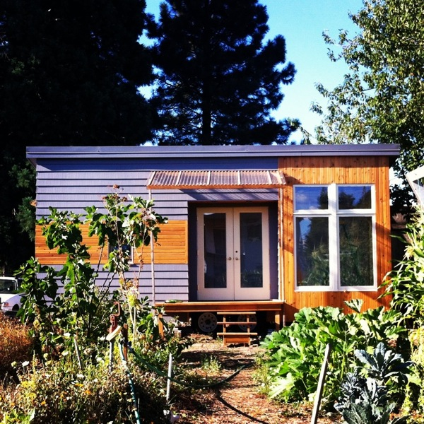 Modern Tiny House On Wheels 200 sq. ft. modern tiny house on wheels for sale in portland, or