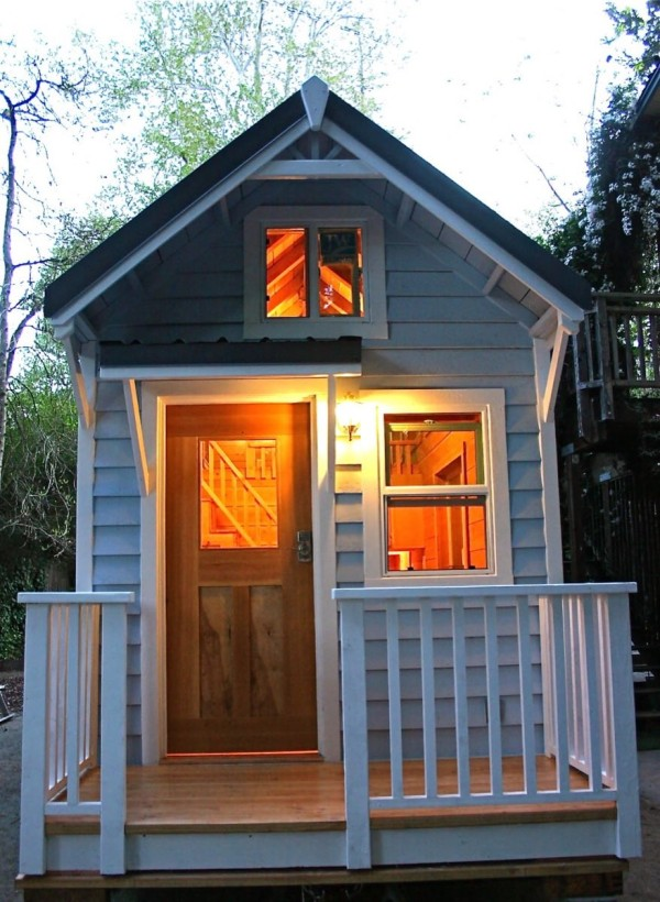cape cod molecule tiny house for sale two lofts w stairs - Little Houses For Sale