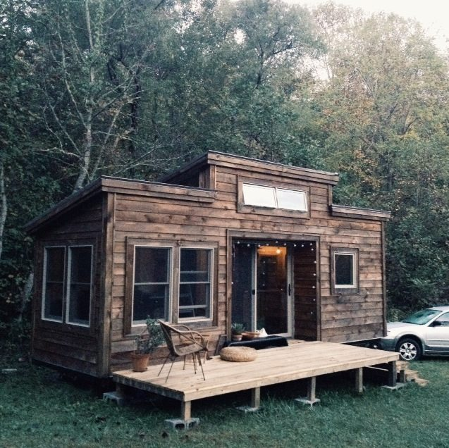 Little Houses On Wheels: Natalie's Tiny House On Wheels By Nanostead