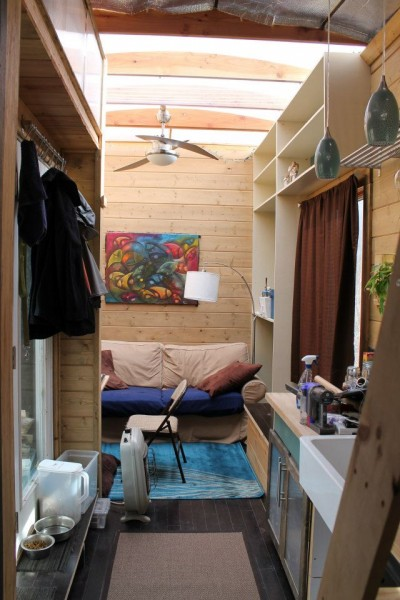 nathans tiny house on wheels 01 400x600   Nate and Jens Home on Wheels: Living Simply and Free in a Tiny House