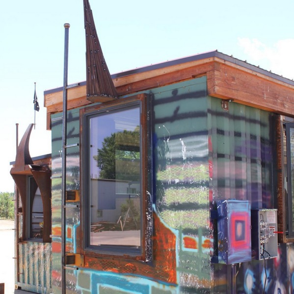 Tiny House Container Amazon: Rhino Cubed Nola Shipping Container Tiny House