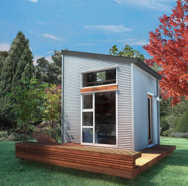 100 Sq Ft Prefab NOMAD Micro Home Could You Live this Small