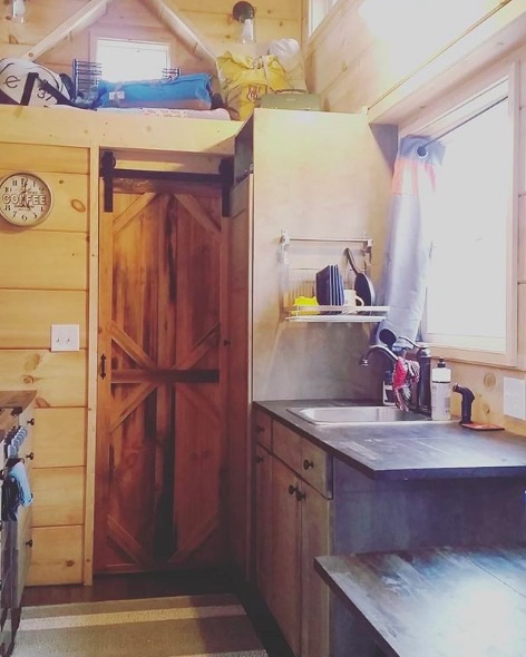For Sale: 250 Sq. Ft. Tiny House in Oklahoma