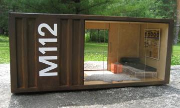 paris renfroe design m112 pods shipping container replica   Tiny Interior Design   Modern Miniatures