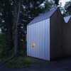 Small Modern Polygon Cabin with Loft