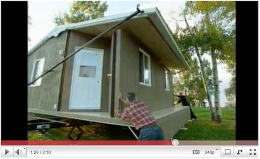 portable and foldable tiny house 6   Portable and Foldable Tiny House