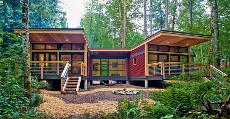 Pre fab small cabin with loft joy studio design gallery Cheapest prefab cabins