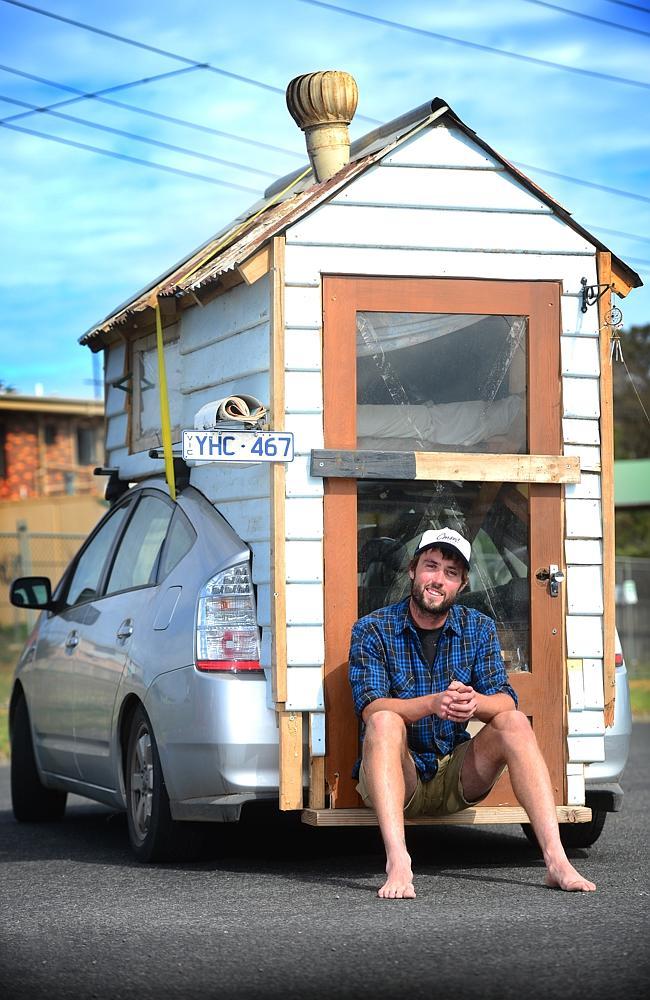Man Builds Diy Prius Tiny House