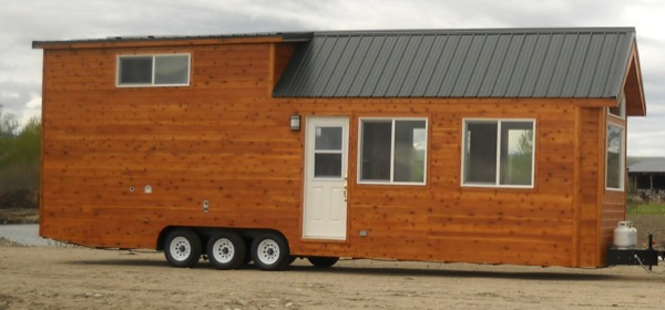 rich the cabin mans spacious tiny house 02 - Largest Tiny House On Wheels