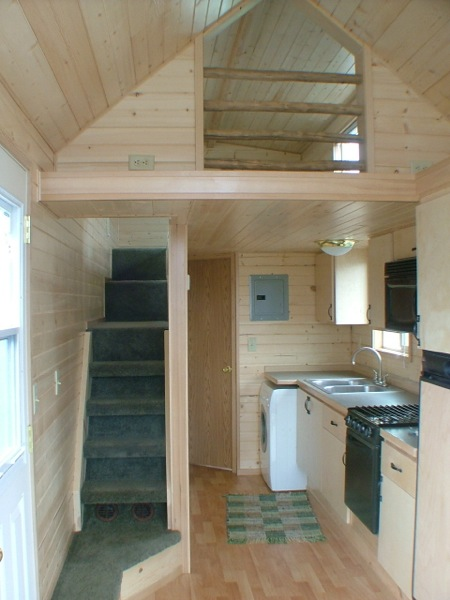 Rich the Cabin Mans Extra Long Tiny House on Wheels
