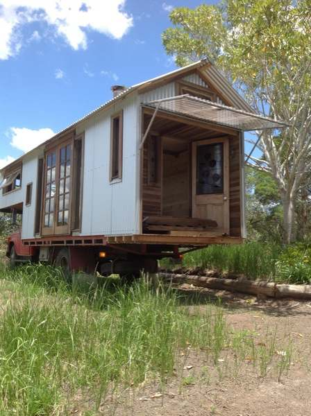 rob scotts studio housetruck 4   Housetruck that looks like a Tiny House