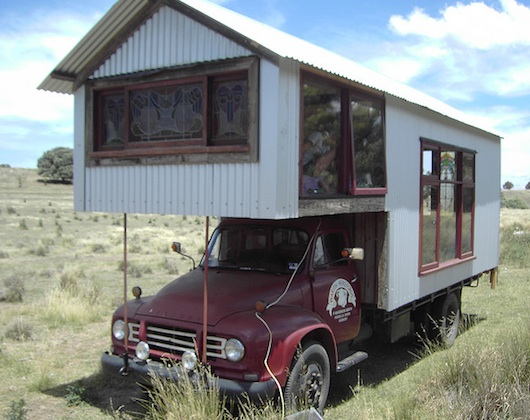 rob scotts tiny truck houses 15   Tiny Truck Houses by Rob Scott