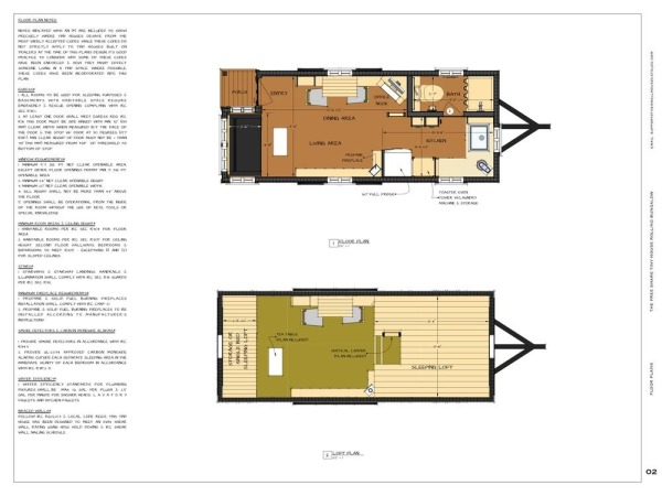 Free tiny house plans 160 sq ft rolling bungalow for Free online room planner no download