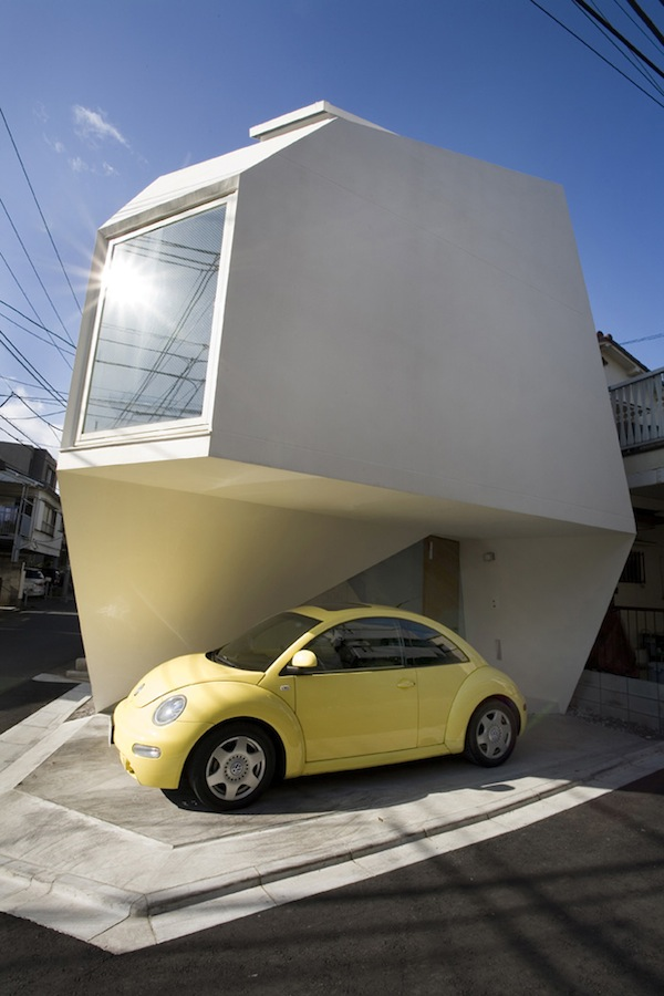 Modern minimalist small house in tokyo for Cute small house design