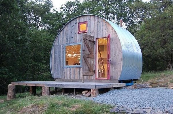 Round Micro Cabin You Can Vacation In