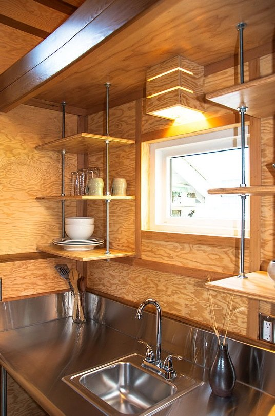 96 Best Images About Nail Polish On Pinterest: Simple Living In A 96 Sq. Ft. Salsa Box Tiny House