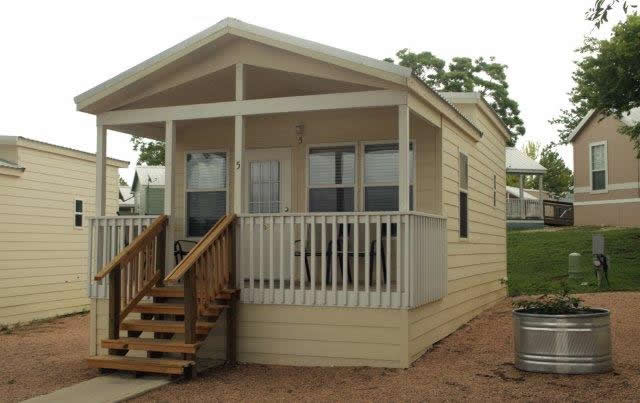 The san marcos tiny cottage for Texas hill country cottages for sale
