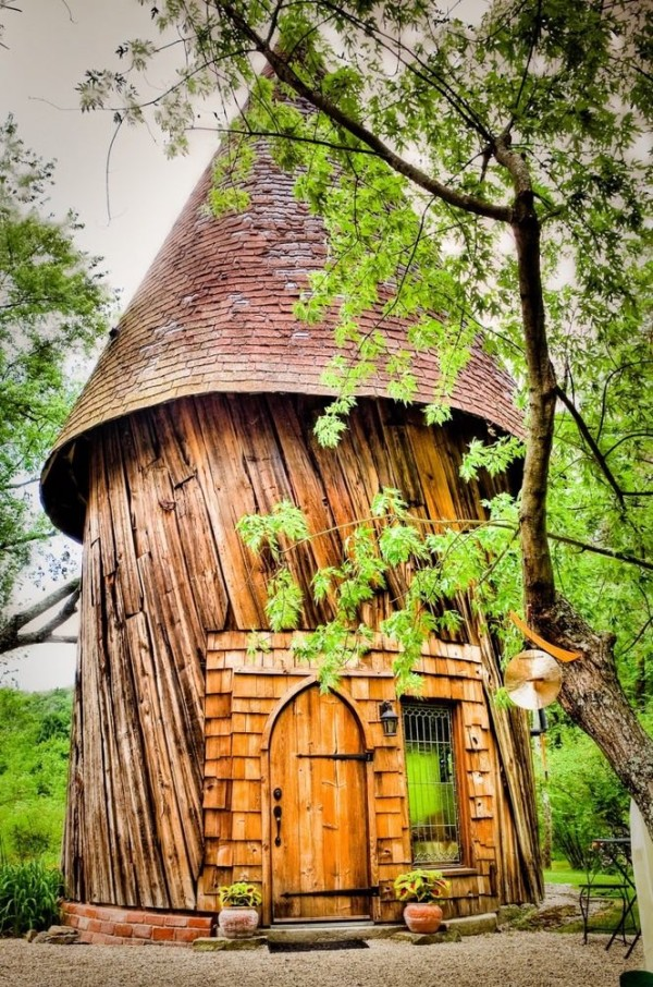 This Tiny Cabin In The Redwoods Is The Perfect Getaway For: Santarella Tiny Silo Cabin In Tyringham