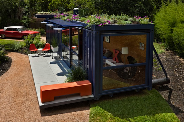 shipping container studio 3   Top 10 Shipping Container Tiny Houses