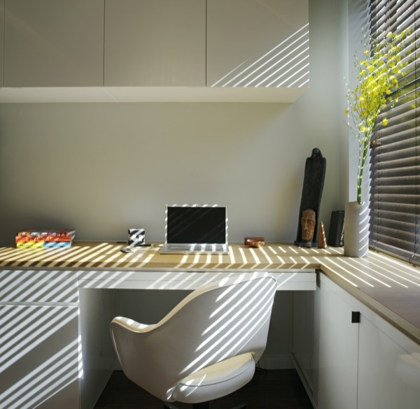 Office Workspace inside Small Apartment in NYC
