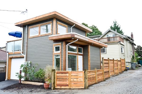 beautiful home garages couple living in 500 square foot small house by smallworks studios