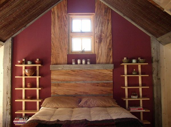 small rustic cabin bedroom 2   Small Rustic Cabin on 40 Acres in Colorado with Mountain Views for Sale