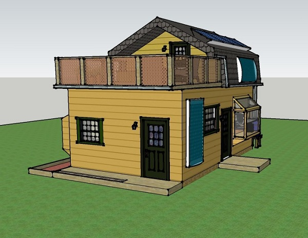 400 square foot tiny house plans - The off grid tiny house ...