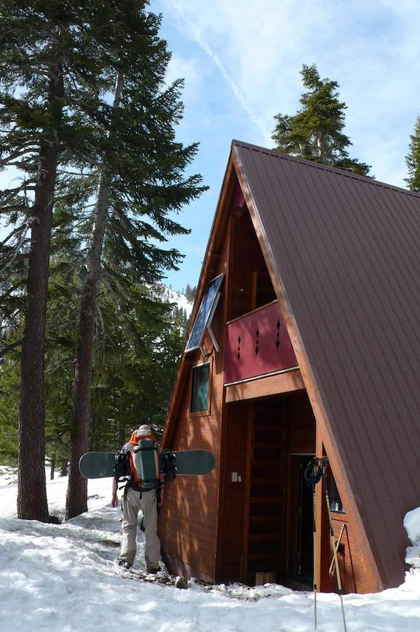 Solar Powered Tiny A-frame Cabin