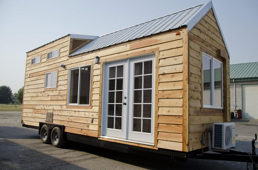 spacious tiny house on wheels by tiny idahomes - Tiny House Builder