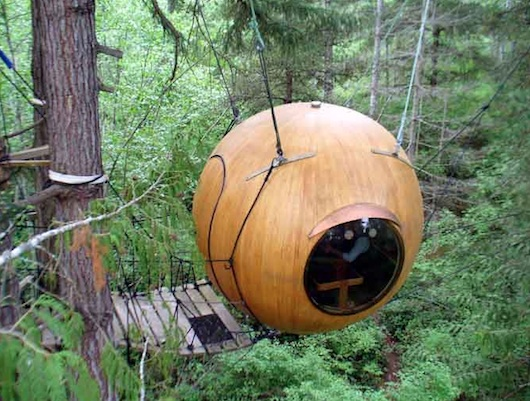 sphere tree house 1   Sphere Tree House