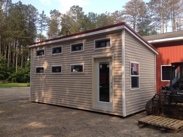 Tiny house talk 200 sq ft standard tiny house by for Tiny house holland michigan