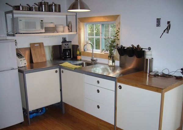 Kitchen in a Tiny House