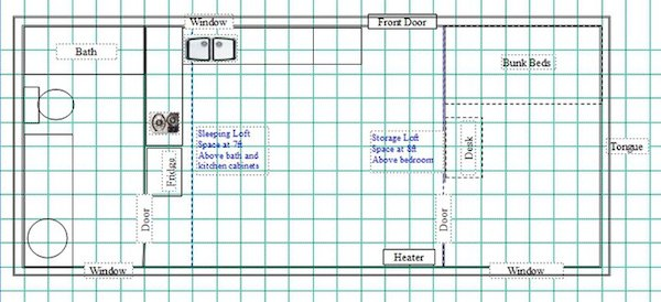 Tiny House Floor Plan