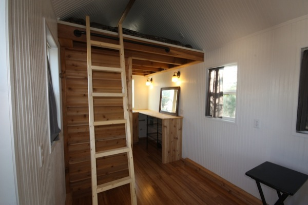 steves tiny house for sale 12   Tiny House For Sale: 144 square foot Loft Home on Wheels