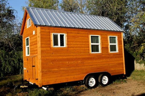 steves tiny house for sale 14   Tiny House For Sale: 144 square foot Loft Home on Wheels