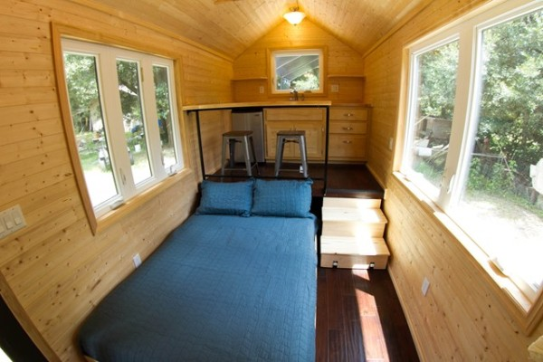 Man Builds 160 Sq Ft Studio Tiny House For Sale
