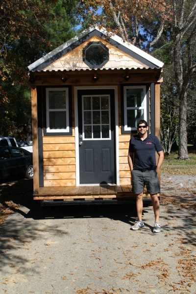 tennessee reed tiny house 1   Tennessee Tiny Homes Sells and Delivers Their First House