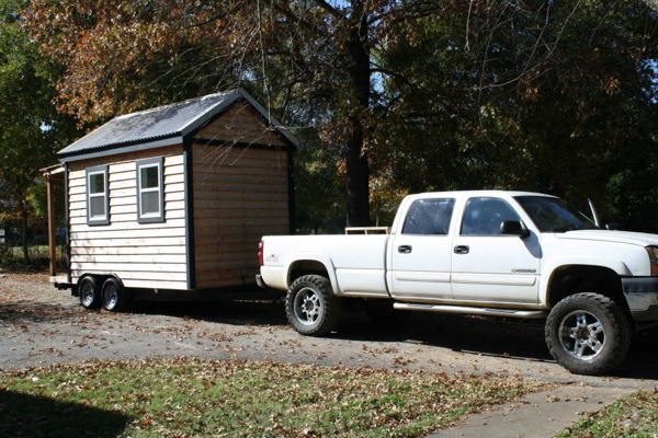 tennessee reed tiny house 2   Tennessee Tiny Homes Sells and Delivers Their First House